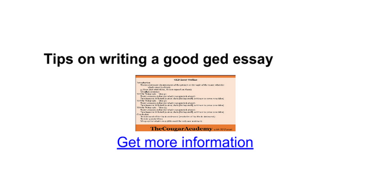 gre essay samples