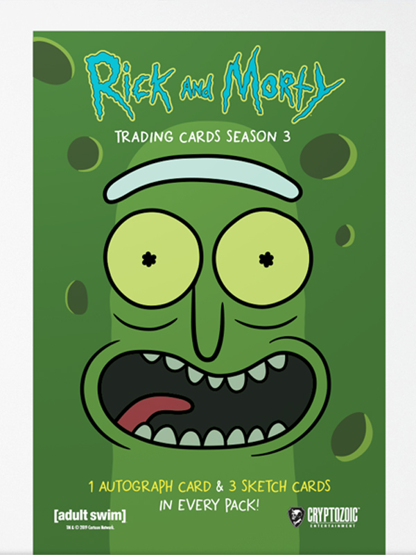 Rick and Morty Trading Cards Season 3