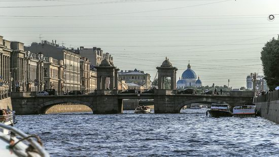 Boat trip along the canals of St. Petersburg, Russia, photo 20
