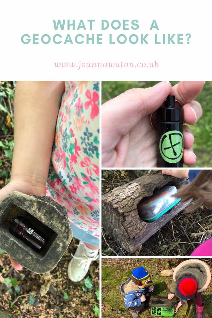 What does a geocache look like?