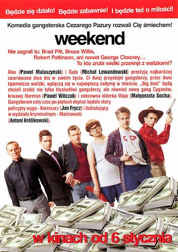 Tył ulotki filmu 'Weekend'