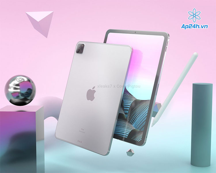 Concept thiết kế của iPad Pro