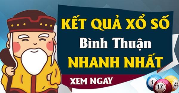 Kết quả xổ số Bình Thuận được update trên hệ thống online tự động