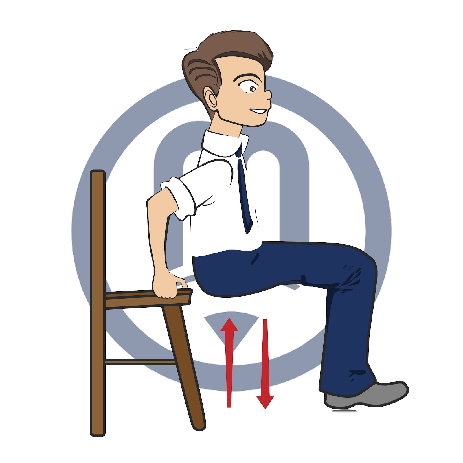 Whole Body Exercise | Chair Dips