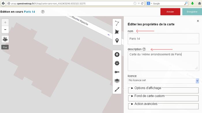 Editer les propriétés dune carte sur uMap - Etape1.PNG