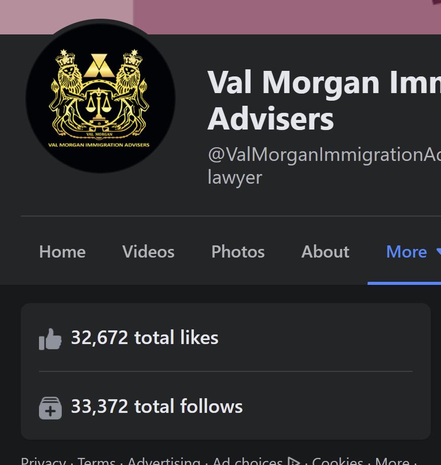 Val Morgan Immigration advisers