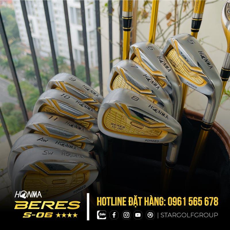 Gậy golf Honma Beres IS-06 4 sao