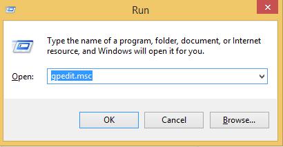 Run Dialog Box