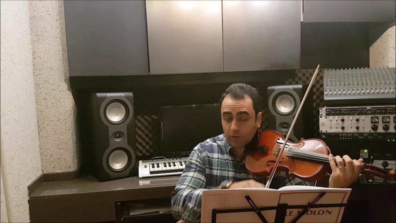 فیلم آموزش ویولن کتاب لویولن ۲ le violon جلد دوم تمرین ۱۴۵ و ۱۴۶ ایمان ملکی