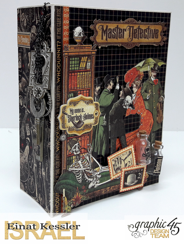 Master Detective Mini Album, by Einat Kessler, product by Graphic 45, photo6.jpg