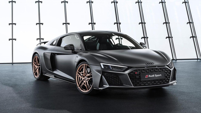 coches deportivos volkswagen, Audi R8 V10 Decennium