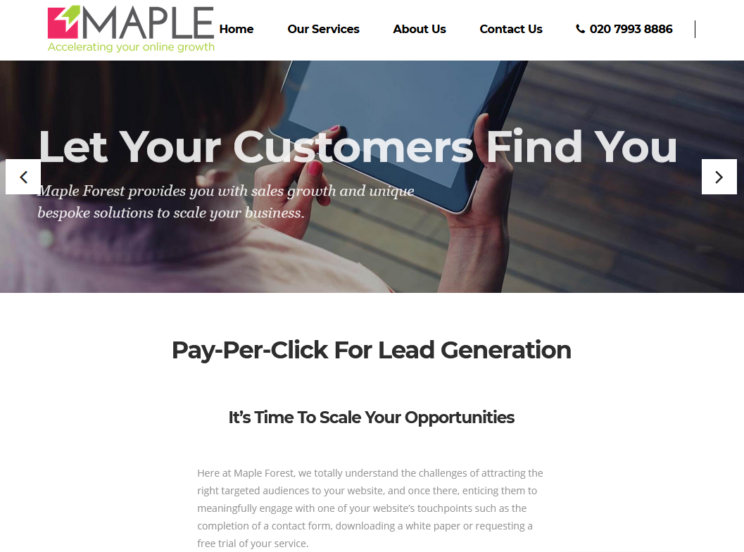 Pay Per Click Agency for Lead Generation