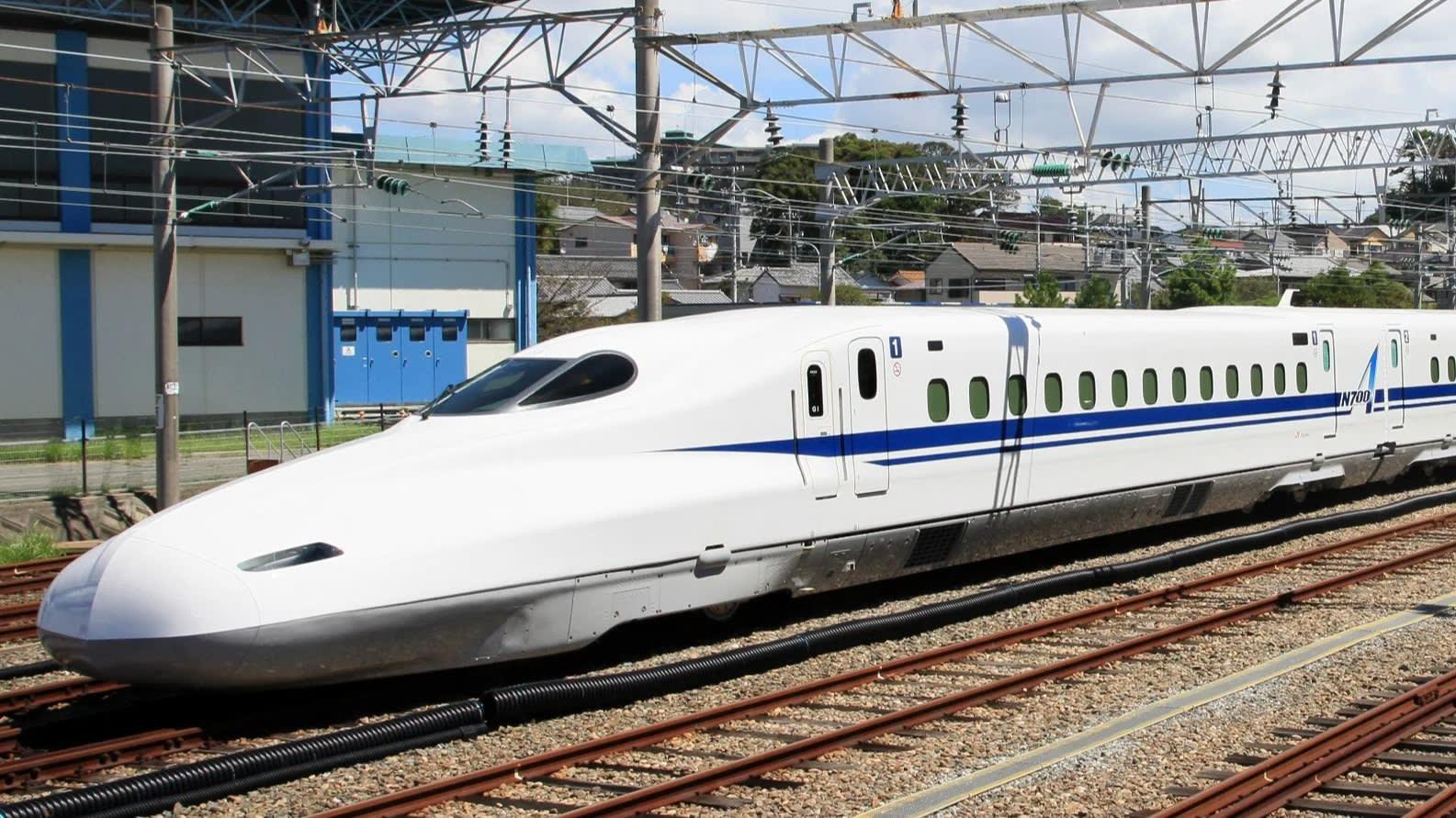 Image result for The Shinkansen Train