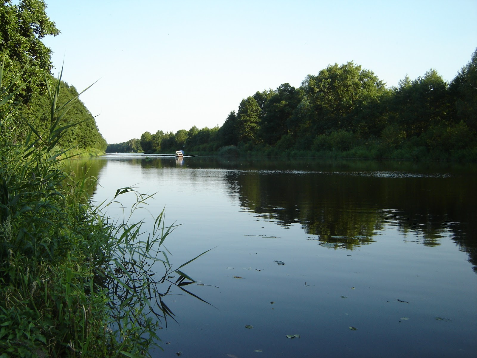 Foto del rio Spree en Treptow