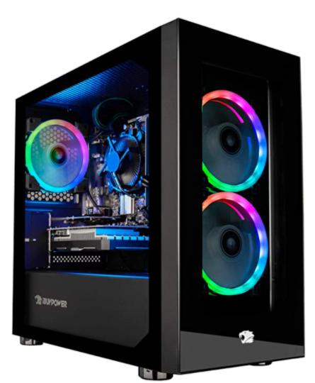 IBUYPOWER Gaming PC Computer Desktop Element Mini 9300.