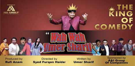 king of comedy Umer Sharif