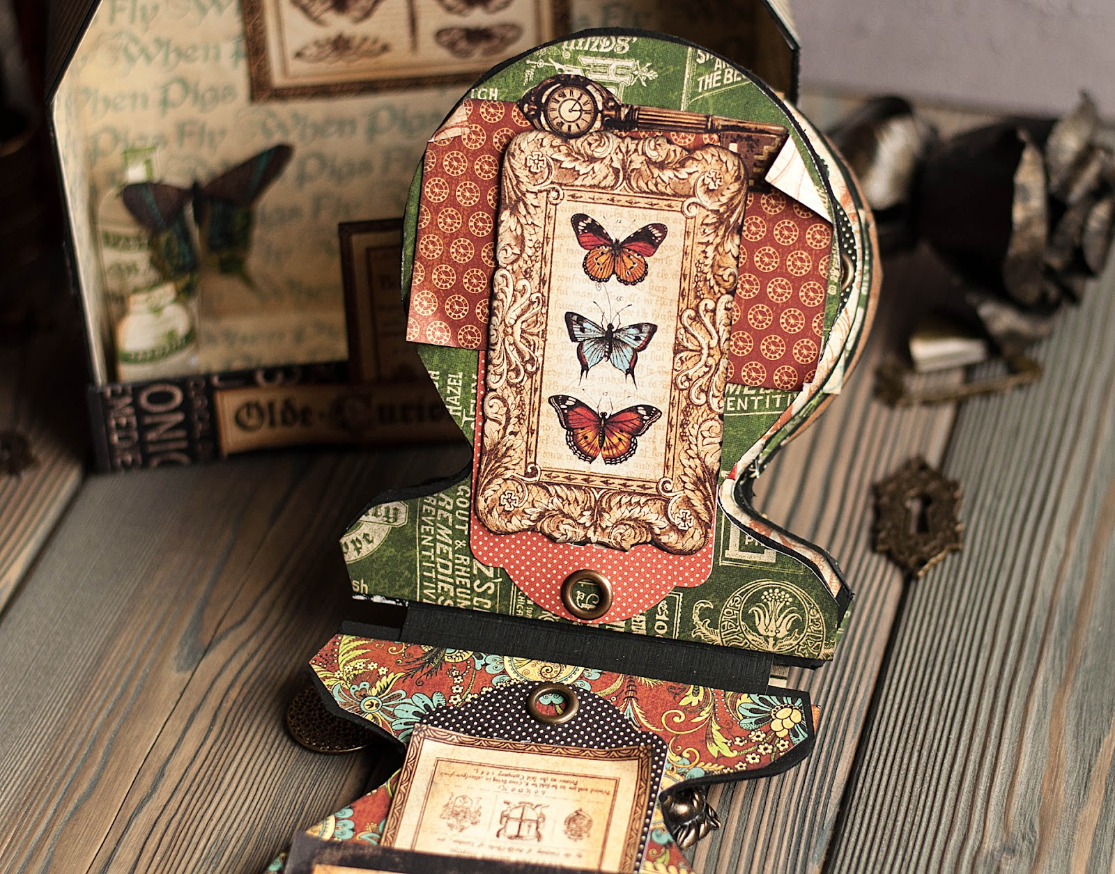 Olde Curiosity Shoppe-Album and Shoppe-tutorial by Lena Astafeva-products by Graphic 45-42.jpg