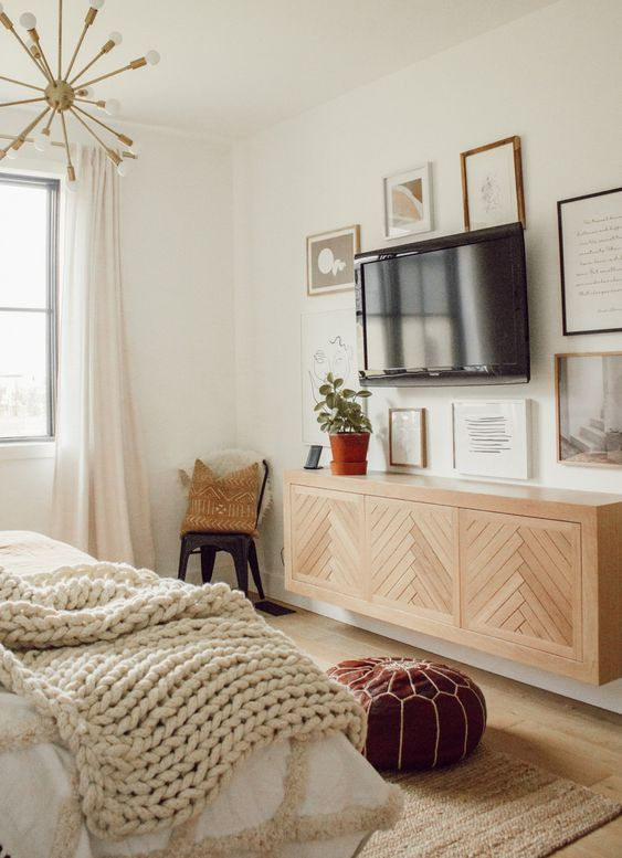 Small Master Bedroom Ideas with TV