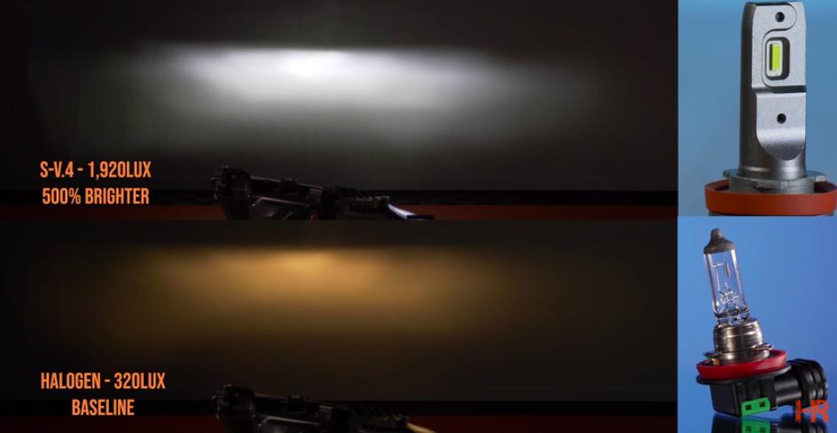 Top 25 Headlight Bulb Shootout - S-V-4