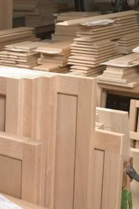 Just as with cabinet construction, more goes into building doors and drawers than is initially obvious. What you want to look for is the quality of the wood used