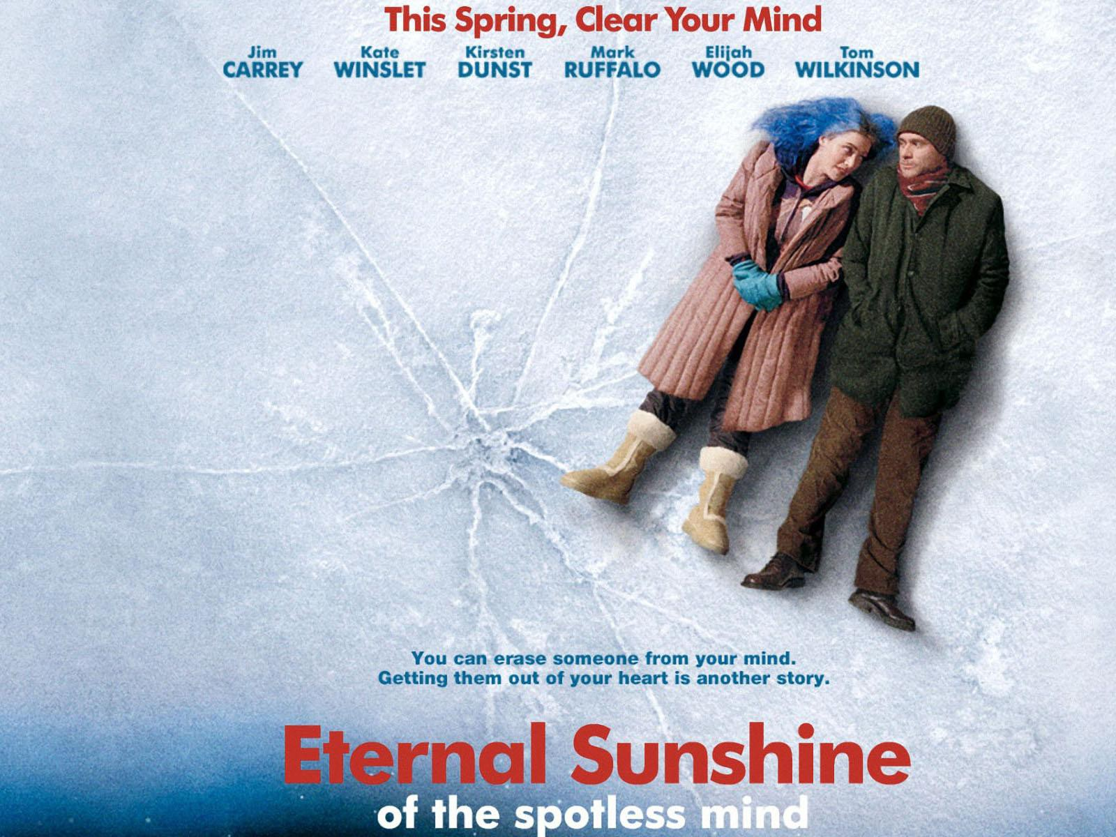 Eternal Sunshine of the Spotless Mind, a science fiction romantic drama