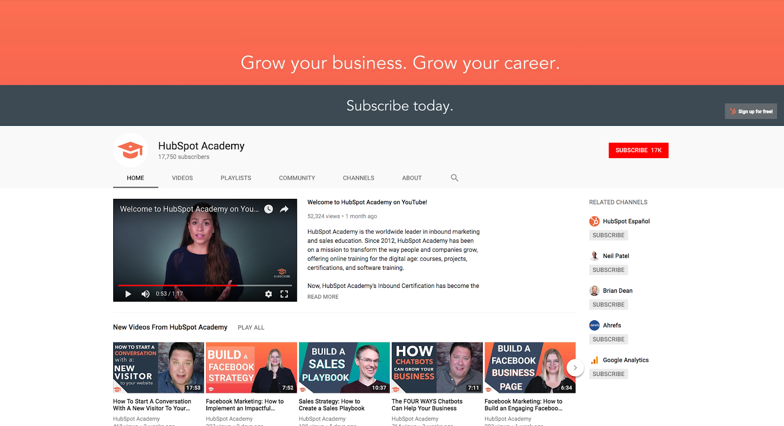 How to Measure and Optimize Your YouTube Channel in HubSpot