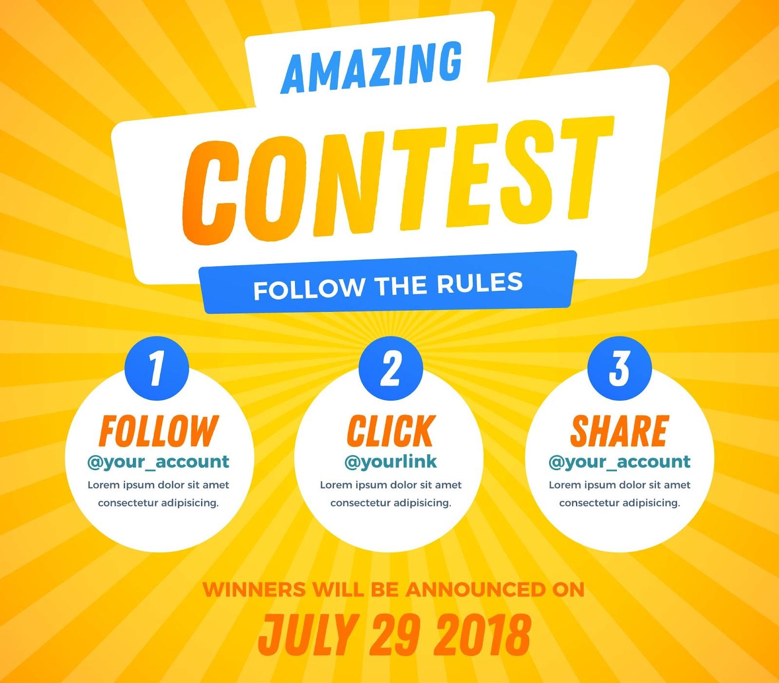 Contests. Are. Fun.
