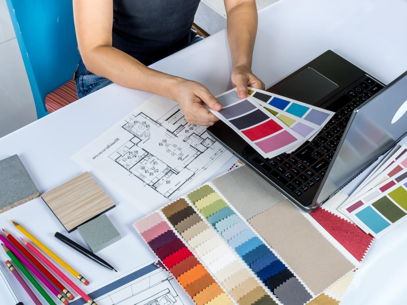 What does an interior designer do? | LCCA