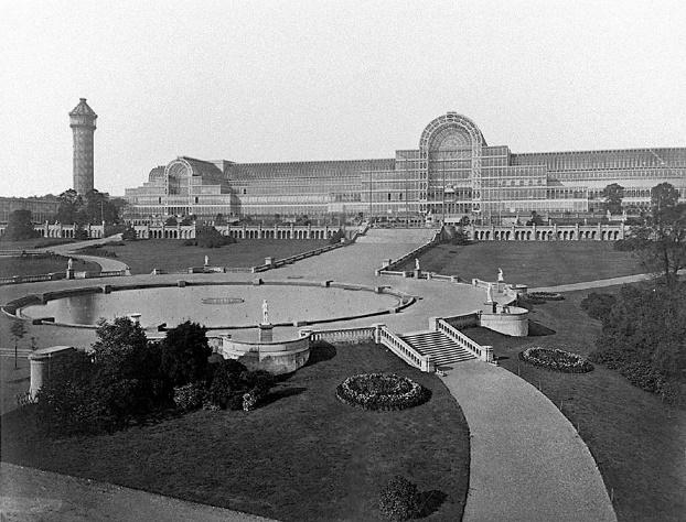 Resultado de imagem para crystal palace londres 1850
