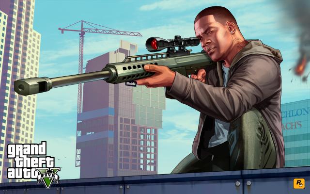 Franklin und Scharfschützengewehr sind das Duo für den Aktienhandel
