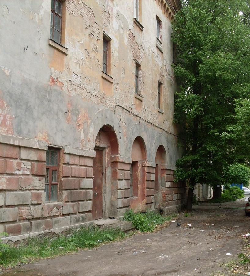 Колишня губернська тюрма, пізніше — слідча тюрма ХГЧК, БУПР №2