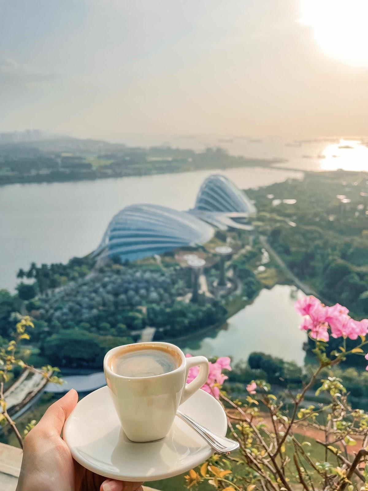 新加坡 全球最大的57樓無邊泳池