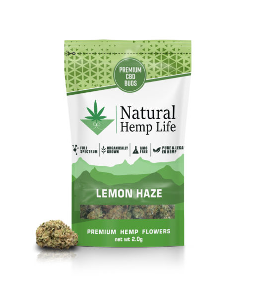 Natural Hemp Lifes Premium CBD Buds med smak av citron