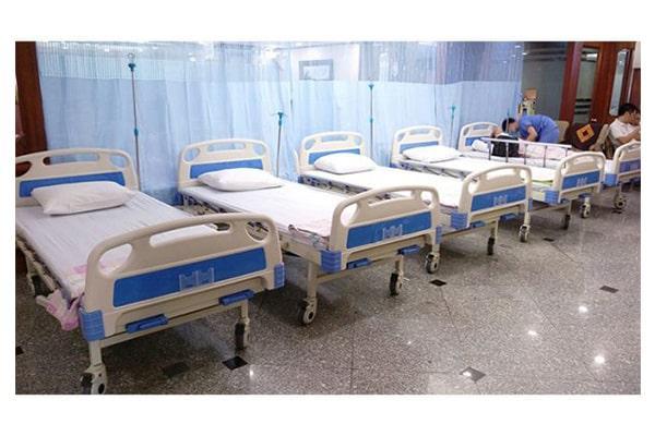 Giường bệnh nhân Nikita 3 tay quay - DCN03 giá rẻ nhất hiện nay