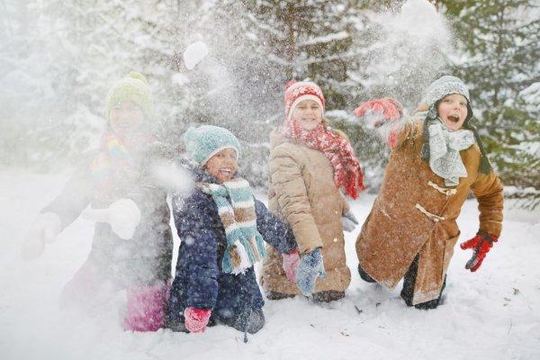 ᐈ Картинки снежки и дети фотографии, картинки снежки дети   скачать на  Depositphotos®