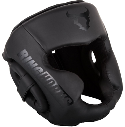 Prevent boxing brain damage with protective headgear