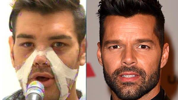 Sevgili bulmak için kendisini Ricky Martin'e dönüştürmek isteyen genç..