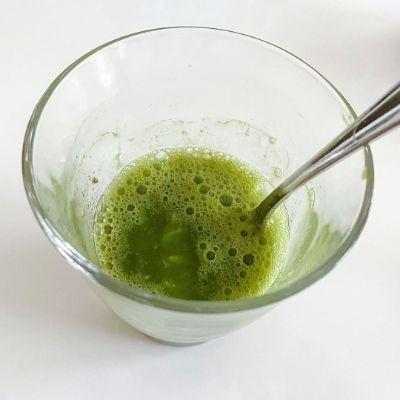キウイのグリーンスカッシュの作り方②