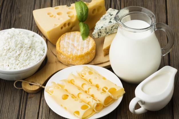 5. ลดน้ำหนักแบบคีโตผลิตภัณฑ์จากนมก็กินได้