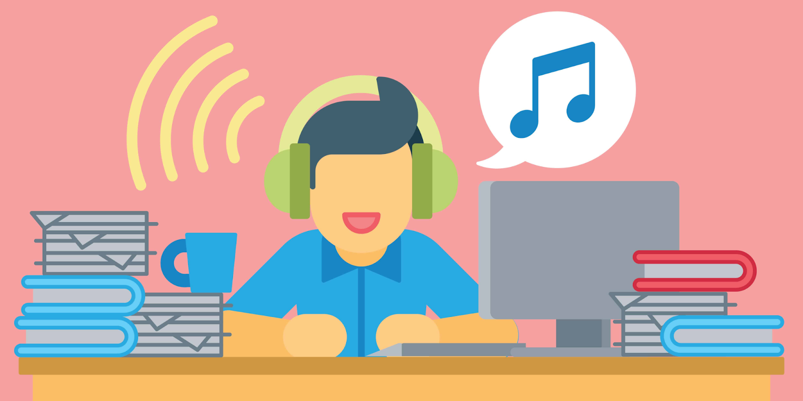 Create music with your material can help in online learning