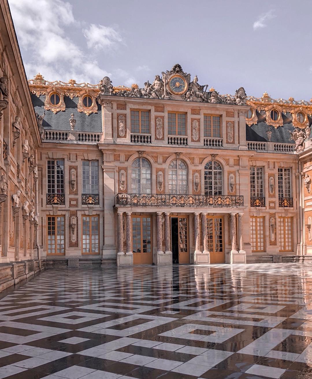 Версальский дворец фото экскурсия по дворцу