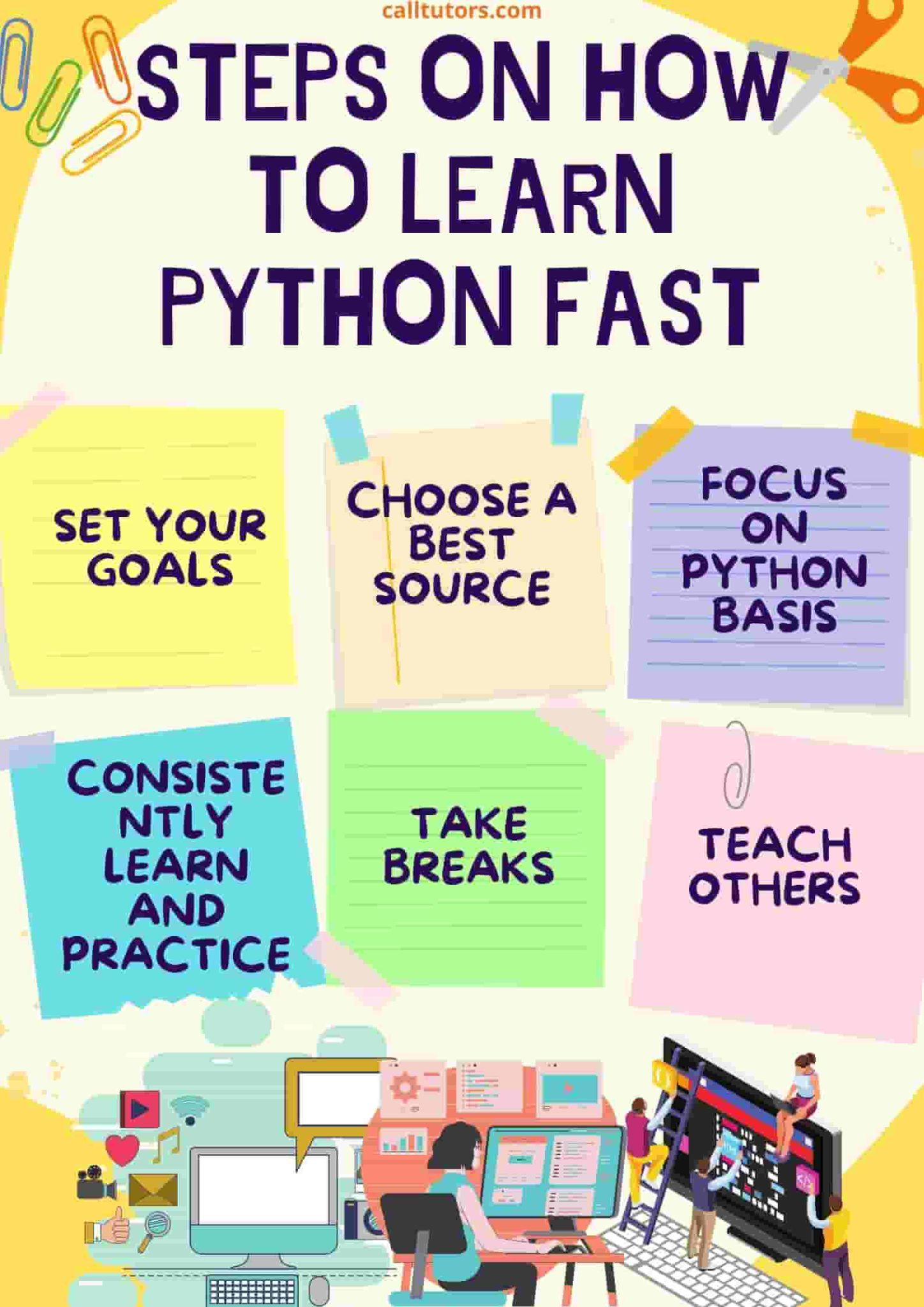 Steps on how to learn python fast
