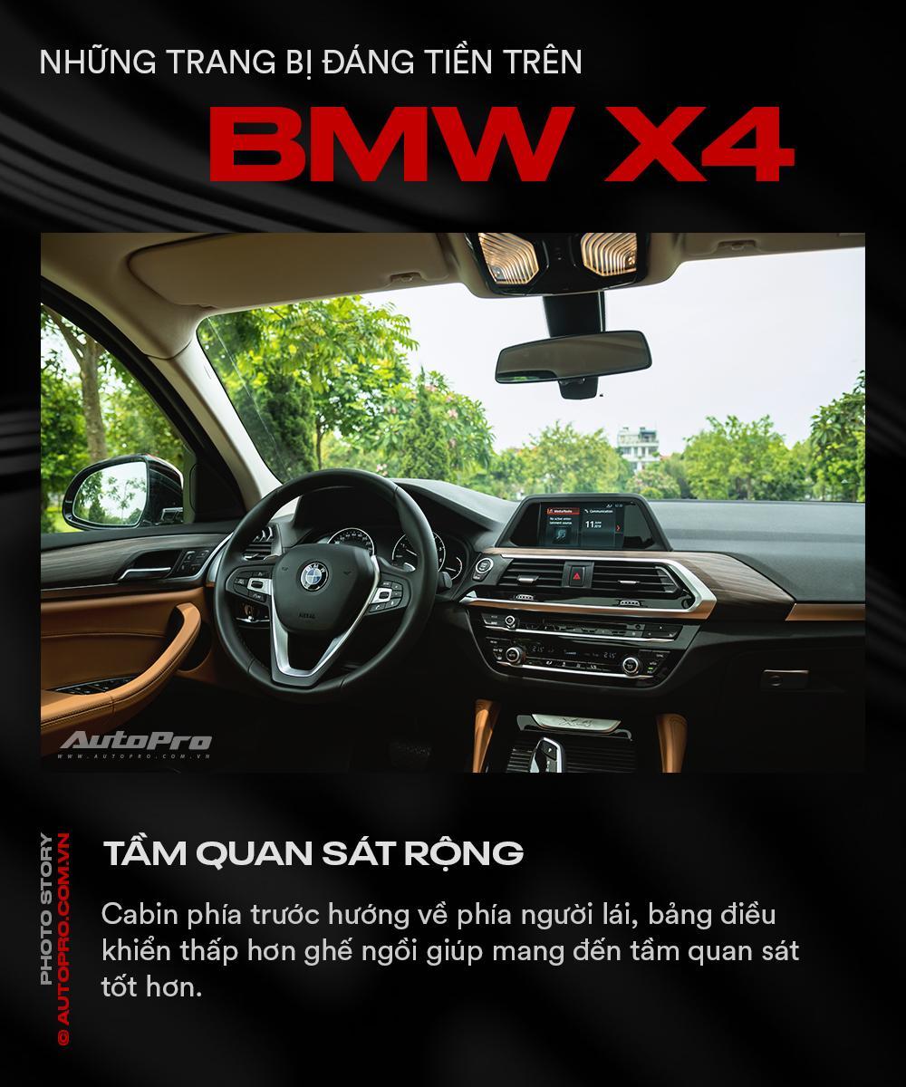 Những trang bị đáng tiền trên BMW X4 - Ảnh 10.