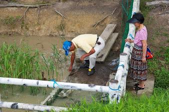 排水口のゴミ取り