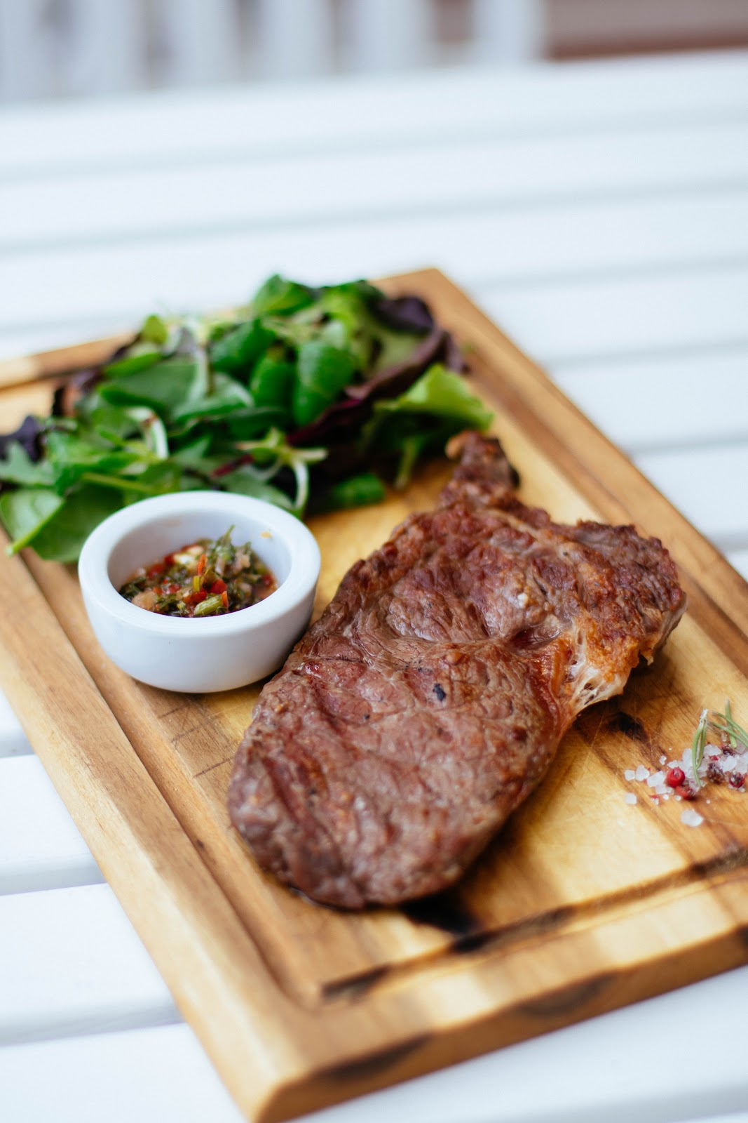 In welchem Öl Steak braten?
