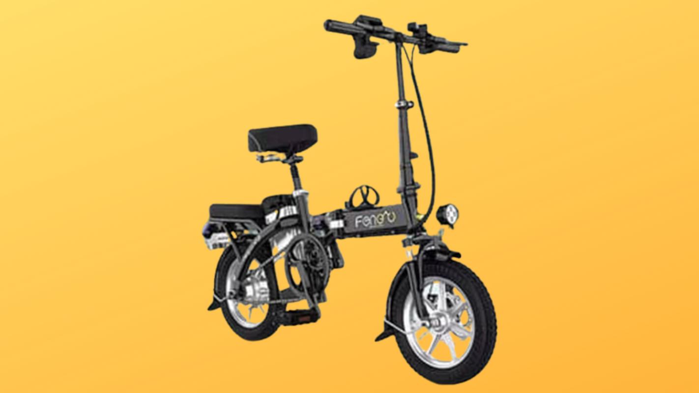 6. JIESUQI จักรยานไฟฟ้า รุ่น FW011