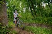 Горный велосипед в своей стихии
