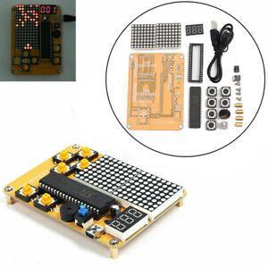Game DIY Electronic Experiment Kit For Tetris/snake/plane/racing ...