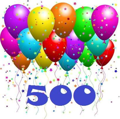 A Celebration of 500 posts!!!   The Heartbeat of the Queen of Hearts