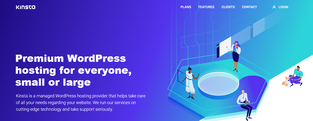 Kinsta WordPress Hosting - cloud hosting for wordpress